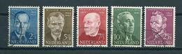 1954 Netherlands Complete Set Summer Welfare Used/gebruikt/oblitere - Periode 1949-1980 (Juliana)