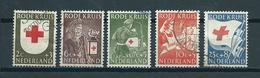 1953 Netherlands Complete Set Red Cross Used/gebruikt/oblitere - Periode 1949-1980 (Juliana)