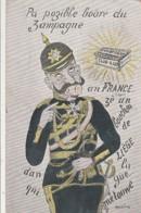*** Patriotique *** Humour *** - Pas Pozible Boare Du Zampagne - Guerre 14 / 18 écrite 1914 -Monbac - Illustrators & Photographers