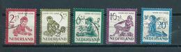 1950 Netherlands Complete Set Child Welfare Used/gebruikt/oblitere - Periode 1949-1980 (Juliana)