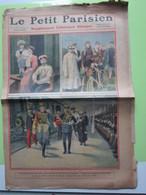 Le Petit Parisien LES SOUVERAINS RUSSES A CHERBOURG - Mr FALLIERES - FRANCOIS FABER Tour De France N°1071 Du 15/08/1909 - Journaux - Quotidiens