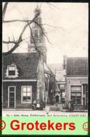 ENKHUIZEN Kerkstraatje Met Zuidertoren Ca 1903 - Enkhuizen
