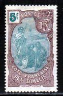 Cote Des Somalis 1909 Yvert 82 (*) TB Neuf Sans Gomme - Ungebraucht