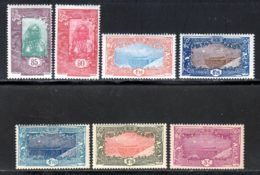 Cote Des Somalis 1925 Yvert 132 / 136 * TB Charniere(s) - Französich-Somaliküste (1894-1967)