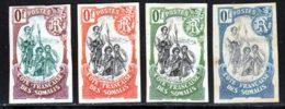 Cote Des Somalis 1902 Yvert 50 / 52 * TB Charniere(s) Essai - Französich-Somaliküste (1894-1967)