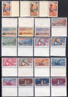 Cote Des Somalis 1947 Yvert 264 / 282 ** TB Bord De Feuille - Ungebraucht