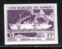 Cote Des Somalis 1956 Yvert 285a ** TB Non Dentele FIDES - Ungebraucht