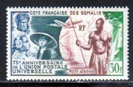Cote Des Somalis PA 1949 Yvert 23 * TB Charniere(s) - Ungebraucht