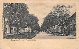 ALTE  AK   PARAMARIBO / Suriname  - Wagewegstraat - 1910 Ca. - Surinam