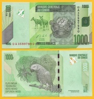 Congo 1000 Francs P-101b 2013 UNC - Zonder Classificatie