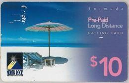 PREPAID PHONE CARD-not Perfect-BERMUDA (E36.1.8 - Bermude