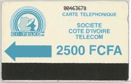 PHONE CARD - COSTA D'AVORIO (E36.3.4 - Côte D'Ivoire