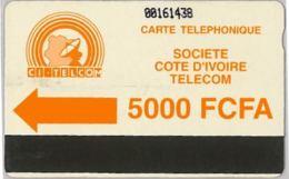 PHONE CARD - COSTA D'AVORIO (E36.3.5 - Côte D'Ivoire