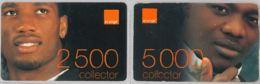 LOT 2 PREPAID PHONE CARD- COSTA D'AVORIO (E36.4.7 - Ivory Coast