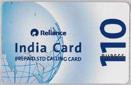 PREPAID PHONE CARD-INDIA (E36.26.5 - India