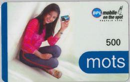 PREPAID PHONE CARD-INDIA (E36.27.5 - Inde