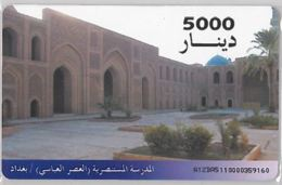 PHONE CARD - IRAQ (E36.29.3 - Irak