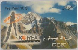 PREPAID PHONE CARD-IRAQ (E36.32.2 - Iraq