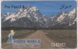 PREPAID PHONE CARD-IRAQ (E36.32.3 - Iraq