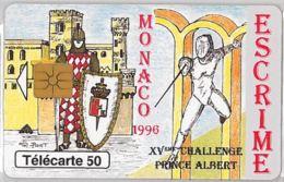 PHONE CARD - MONACO (E36.38.6 - Monaco