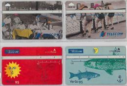 LOT 4 PHONE CARD- PORTOGALLO (E37.4.1 - Portogallo