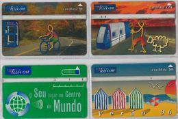 LOT 4 PHONE CARD- PORTOGALLO (E37.4.5 - Portogallo