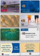 LOT 4 PHONE CARD- PORTOGALLO (E37.9.1 - Portogallo
