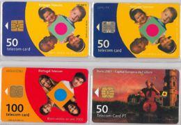 LOT 4 PHONE CARD- PORTOGALLO (E37.10.1 - Portogallo