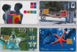 LOT 4 PHONE CARD- PORTOGALLO (E37.10.5 - Portogallo