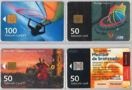 LOT 4 PHONE CARD- PORTOGALLO (E37.11.5 - Portogallo
