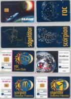 LOT 4 PHONE CARD- ROMANIA (E37.25.1 - Romania