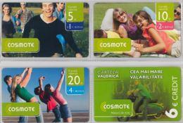 LOT 4 PREPAID PHONE CARD- ROMANIA (E37.29.3 - Romania