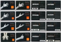 LOT 8 PREPAID PHONE CARD- ROMANIA (E37.30.1 - Romania
