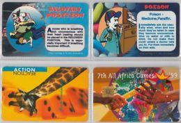 LOT 4 PHONE CARD- SUDAFRICA (E37.37.5 - Sudafrica