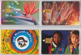 LOT 4 PHONE CARD- SUDAFRICA (E37.39.1 - Sudafrica