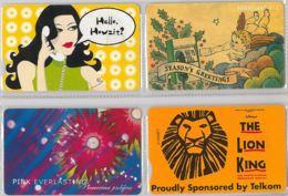 LOT 4 PHONE CARD- SUDAFRICA (E37.41.5 - Sudafrica