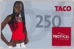 PREPAID PHONE CARD - ANGOLA (E38.1.8 - Angola