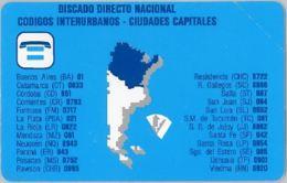 PHONE CARD - URMET -ARGENTINA (E38.4.3 - Argentina