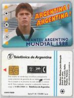 PHONE CARD - ARGENTINA (E38.5.1 - Argentina
