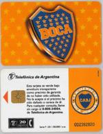 PHONE CARD - ARGENTINA (E38.5.4 - Argentina
