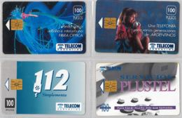 LOT 4 PHONE CARD- ARGENTINA (E38.8.1 - Argentina
