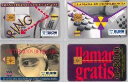LOT 4 PHONE CARD- ARGENTINA (E38.9.1 - Argentina