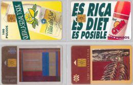LOT 4 PHONE CARD- ARGENTINA (E38.9.5 - Argentina
