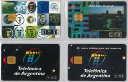 LOT 4 PHONE CARD- ARGENTINA (E38.11.1 - Argentina
