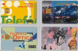 LOT 4 PHONE CARD- ARGENTINA (E38.11.5 - Argentina