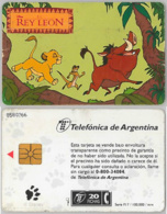 PHONE CARD - ARGENTINA (E38.12.5 - Argentina
