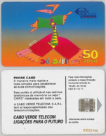PHONE CARD - CAPO VERDE (E38.15.1 - Cap Vert