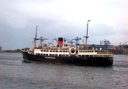 7X5 PHOTO OF AALBORGHUS AT COPENHAGEN - Boats