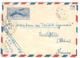 11714 - Avec Censure  Pour La France - Marcophilie (Lettres)
