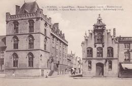 Furnes Grand Place Maison Espagnolee Theatre - Ieper